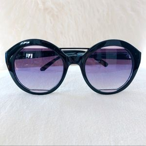 Perverse Black and Pink Sunglasses